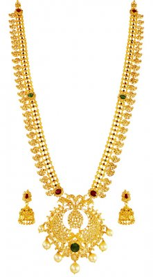22k Uncut Diamond Mangomala ( Diamond Necklace Sets )