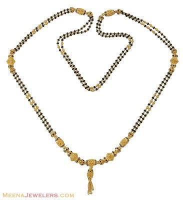 Gold Long Mangalsutra (26 Inches) ( MangalSutras )