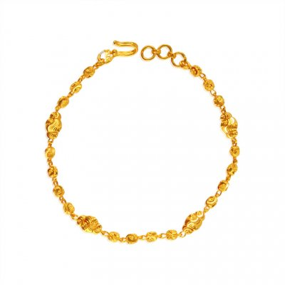 22k Gold bracelet for ladies ( Ladies Bracelets )