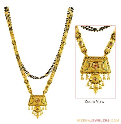 Fancy (30 in) Long Gold MangalSutra ( MangalSutras )