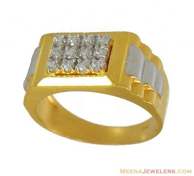 22Kt Mens Gold Ring ( Mens Signity Rings )
