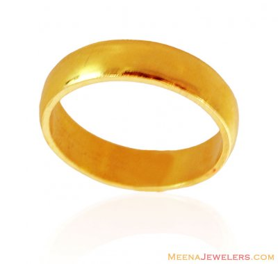 22k Gold Band for Women ( Wedding Bands )