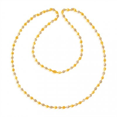 22K Balls Chain (26 Inches) ( 22Kt Long Chains (Ladies) )
