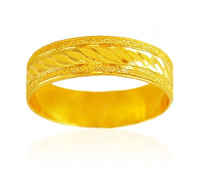 22Kt Gold Wedding Band ( Wedding Bands )