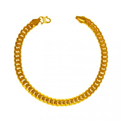 22 kt Gold Mens Bracelet ( Men`s Bracelets )