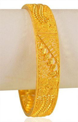 22Kt Gold Bangle (1 Pc) ( Gold Bangles )