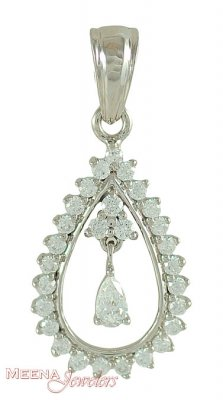 White Gold Fancy Pendant ( Fancy Pendants )