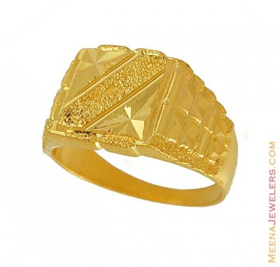 Gold Mens Ring ( Mens Gold Ring )