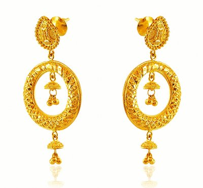22k Designer Long Earrings ( Long Earrings )