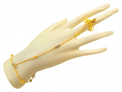 22K Gold Beautiful Panja (1PCs) ( Ladies Bracelets )