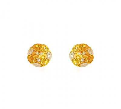 22K Two Tone Gold Tops  ( 22 Kt Gold Tops )