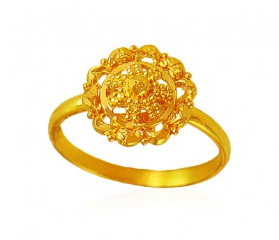22kt Gold Baby Ring ( 22Kt Baby Rings )