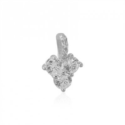 18Kt White Gold Fancy Pendant ( Fancy Pendants )