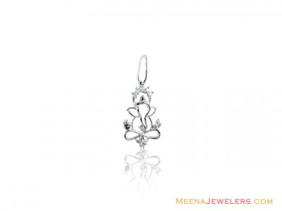 14K Lord Ganesh Pendant ( Diamond Pendants )