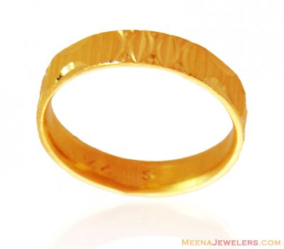Gold Band (Ring) ( Wedding Bands )