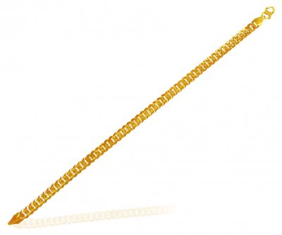 Mens 22Kt Gold Bracelet ( Men`s Bracelets )