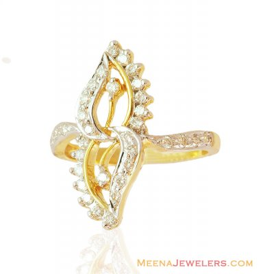 Fancy Diamond Ring 18K ( Diamond Rings )