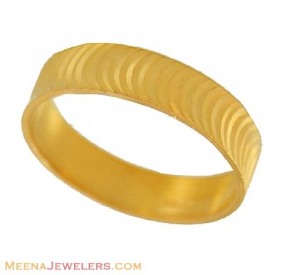 22Kt Gold fancy Band ( Wedding Bands )