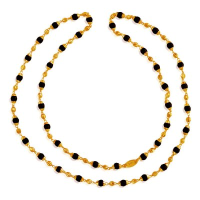 22 Karat Gold Holy Tulsi Mala ( 22Kt Long Chains (Ladies) )
