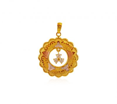 22K Gold Fancy Pendant ( Fancy Pendants )
