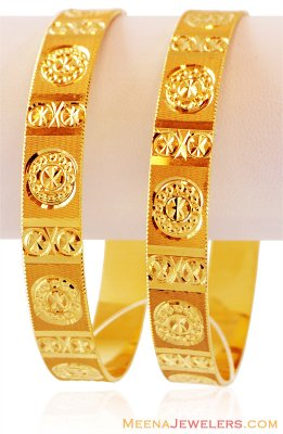 22K Gold Bangles(1 Pc only) ( Gold Bangles )
