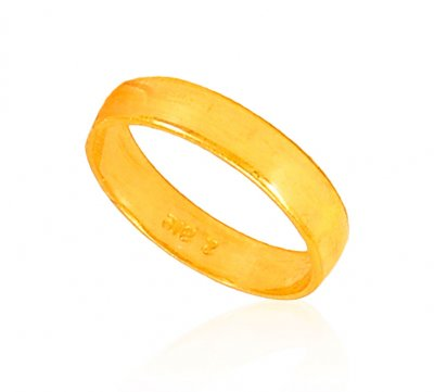 22KT Gold Simple wedding Band ( Wedding Bands )