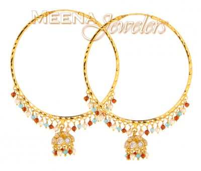 22Kt Gold Exquisite Earrings ( Exquisite Earrings )