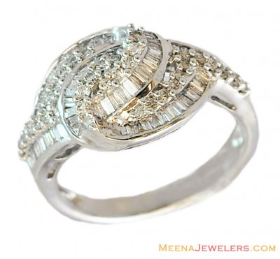 Exclusive White Gold Diamond Ring ( Diamond Rings )