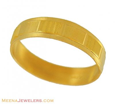 Yellow Gold Wedding Bands on 22k Yellow Gold Band   Wedding Bands
