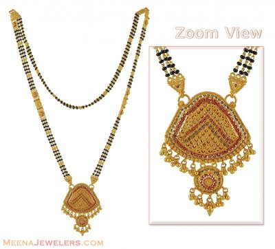 Multi colored mangalsutra ( MangalSutras )