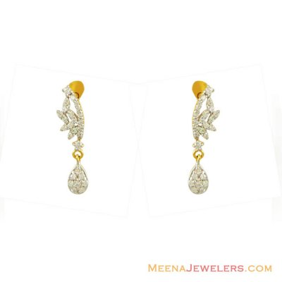 22K Fancy Earrings ( Signity Earrings )