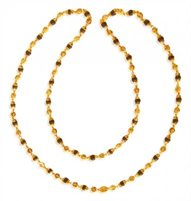 Tulsi Mala 22K Gold  ( 22Kt Long Chains (Ladies) )