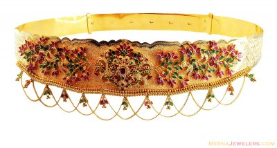 Gold Waist Belt (Vaddanam) ( Gold Waist Belt )