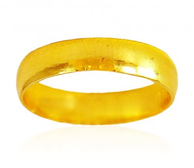 22Kt Gold Simple Band ( Wedding Bands )