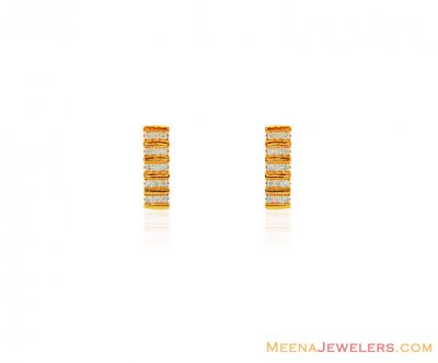 22Kt Fancy Signity Earrings ( Signity Earrings )