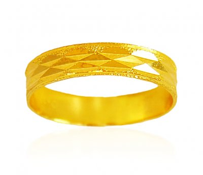 22Kt Gold Band ( Wedding Bands )
