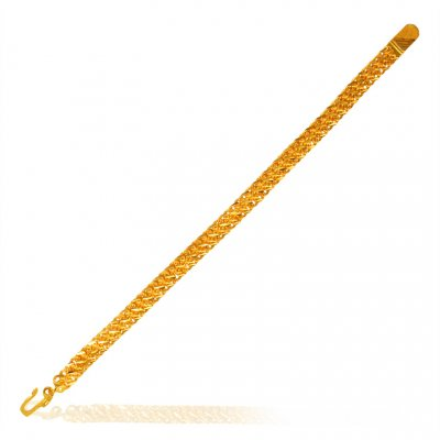 22k Yellow Gold Bracelet ( Men`s Bracelets )