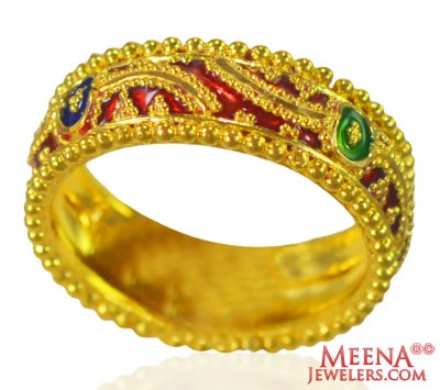 22kt Gold Traditional Band ( Ladies Gold Ring )