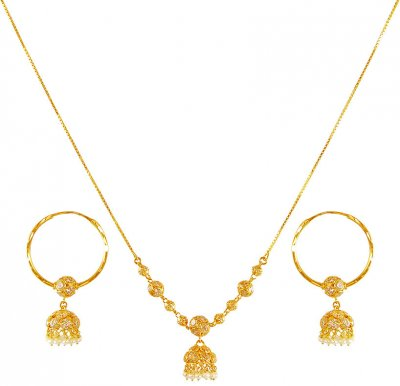 22 Karat Gold Dokia Set ( Light Sets )