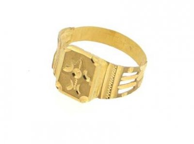 EXQUISITE RING (MENS) ( Mens Gold Ring )