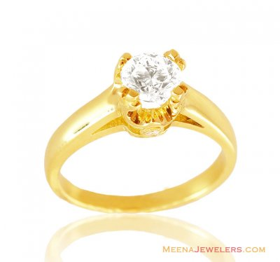 18K  Fancy Diamond Ring ( Diamond Rings )