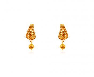 Gold Tops with Hangings ( 22 Kt Gold Tops )