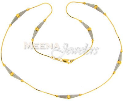 22 Kt Gold Fancy Chain ( 22Kt Gold Fancy Chains )