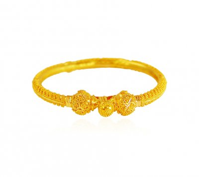 22K Kids Pipe Bangle ( Baby Bangles )