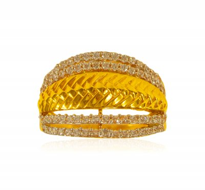 22 Kt Gold Ladies Signity Ring ( Ladies Signity Rings )