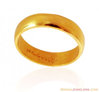 22K Plain Wedding Band ( Wedding Bands )