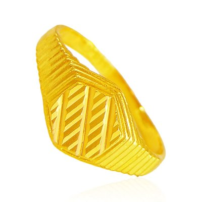 22K Gold Ring ( Mens Gold Ring )
