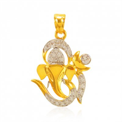 22kt Gold Lord Ganpati Pendant ( Ganesh, Laxmi and other God Pendants )