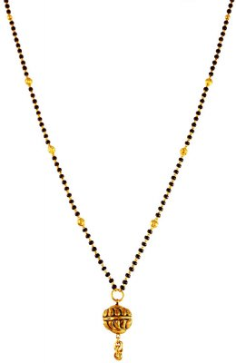 22Kt Gold Antique Mangalsutra Chain ( MangalSutras )