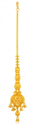 22Kt Gold Tikka for Ladies ( Gold Tikka )